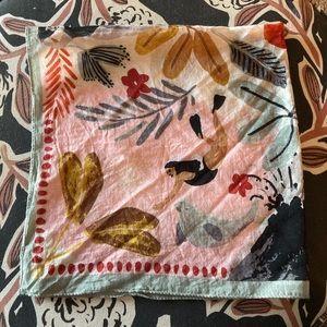 Madewell unique aquatic print bandana scarf